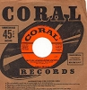 Brewer, Teresa - Mutual Admiration Society/Crazy With Love (with vintage Coral company sleeve) - EX8/ - 45 rpm Records