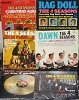 Four Seasons - 6-Pack of Four Seasons LPs, original first issue 33rpm LP records, includes the titles The 4 Season's Christmas Album, Rag Doll, Gold Vault of Hits, Dawn (Go Away), 2nd Vault of Golden Hits and Golden Hits Of The 4 Seasons. All records and