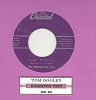 Kingston Trio - Tom Dooley/Ruby Red (with juke box label) - EX8/ - 45 rpm Records