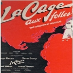 La Cage Aux Folles - La Cage Aux Folles - Original Broadway Cast Recording (vinyl STEREO LP record) - NM9/EX8 - LP Records