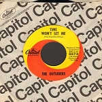 Outsiders - Time Won't Let Me/Was It Really Real (with Capitol company sleeve) - EX8/ - 45 rpm Records