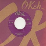 Ray, Johnnie - Cry/The Little White Cloud That Cried (with vintage Okeh company sleeve) - EX8/ - 45 rpm Records