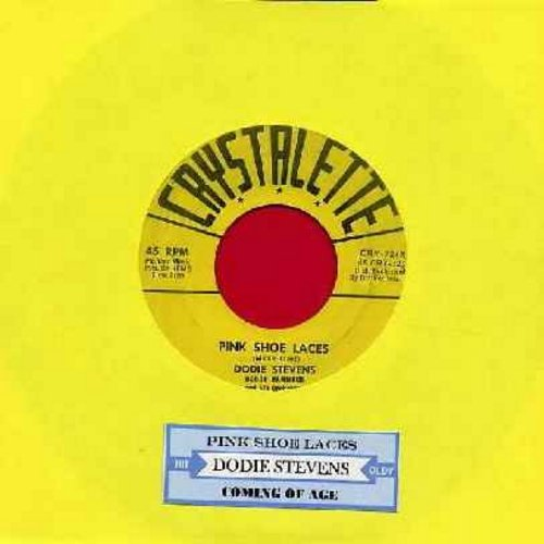 Stevens, Dodie - Pink Shoe Laces/Coming Of Age (The ULTIMATE 50s Girl-Sound, first issue with juke box label!) - VG6/ - 45 rpm Records