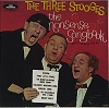 Three Stooges - The Nonsense Songbook: Three Little Fishies, The Merry-Go-Round Broke Down, Mairzy Doats, Old MacDonald Had A Farm, The Alphabet Song (vinyl LP record, re-issue of vintage recordings, SEALED, never opened!) - SEALED/SEALED - LP Records
