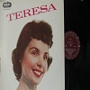 Brewer, Teresa - Teresa: A Tear Fell, Bo Weevil, Ricochet, Let Me Go Lover, A Sweet Old Fashioned Girl, Bell Bottom Blues, Pledging My Love (vinyl MONO LP record) - EX8/EX8 - LP Records