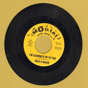 Dale & Grace - I'm Leaving It Up To You/That's What I Like About You (with juke box label) - EX8/ - 45 rpm Records