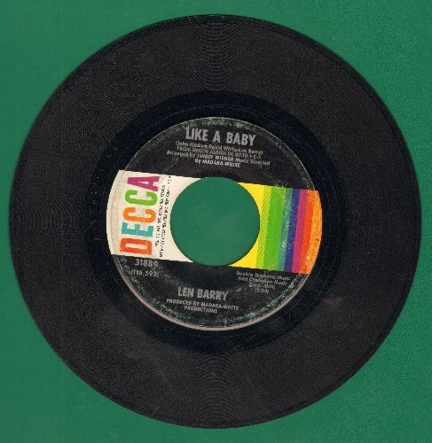 Barry, Len - Like A Baby/Happiness  - VG7/ - 45 rpm Records