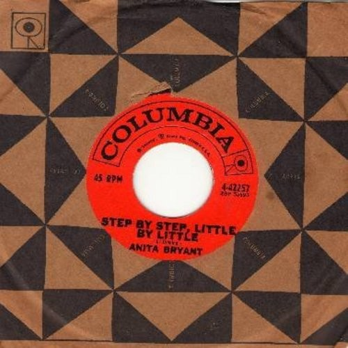 Bryant, Anita - Step By Step, Little By Little/Cold Cold Winter (with Columbia company sleeve) - EX8/ - 45 rpm Records