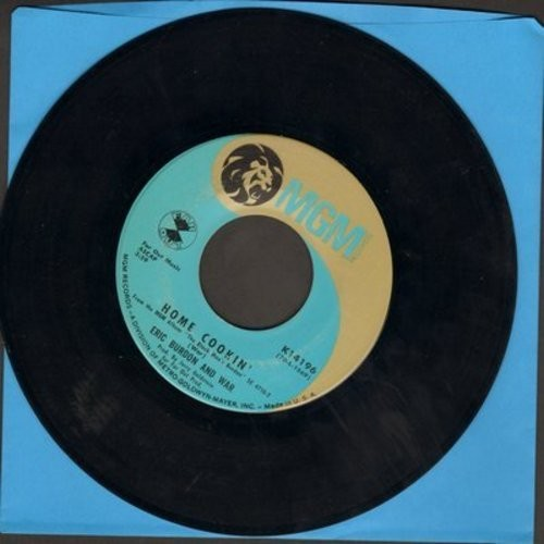 Burdon, Eric & WAR - They Can't Take Away Our Music/Home Cookin'  - VG7/ - 45 rpm Records