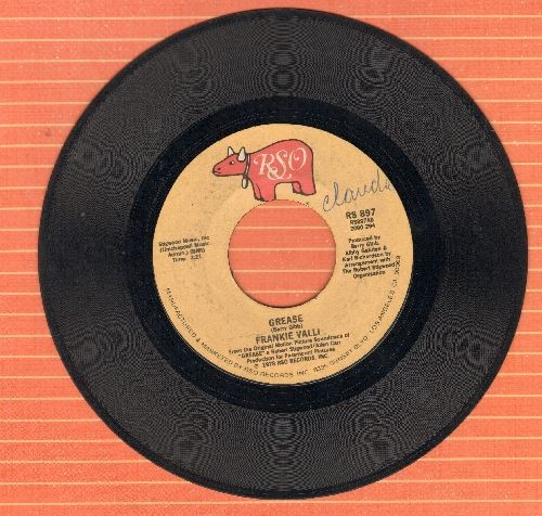Valli, Frankie - Grease (Is The Word)/Grease (Instrumental) (minor wol) - VG7/ - 45 rpm Records