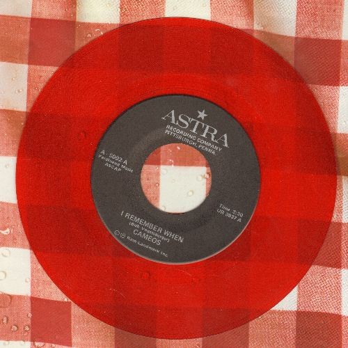 Cameos - I Remember When/We'll Still Be Together (red vinyl re-issue) - M10/ - 45 rpm Records