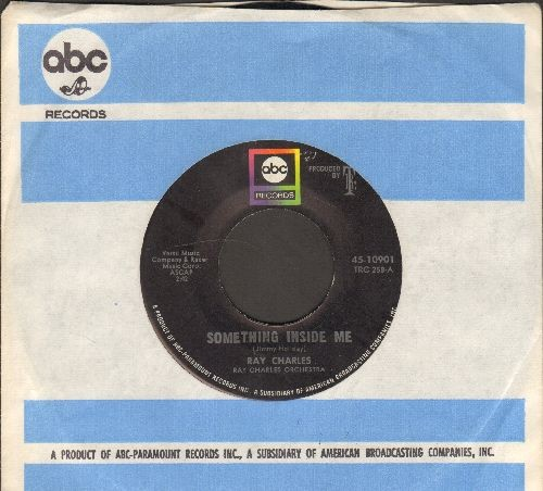 Charles, Ray - I Want To Talk About You/Something Inside Me (with ABC company sleeve) - NM9/ - 45 rpm Records