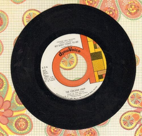Chicago Loop - (When She Wants Good Lovin') My Baby Comes To Me/This Must Be The Place - NM9/ - 45 rpm Records