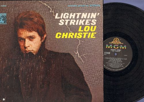 Christie, Lou - Lightnin' Strikes: Since I Fell For You, You've Got Your Troubles, Going Out Of My Head, Trapeze, If I Fell (vinyl STEREO LP record) - EX8/EX8 - LP Records