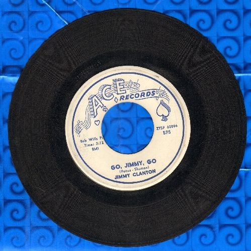 Clanton, Jimmy - Go, Jimmy, Go/I Trusted You  - VG7/ - 45 rpm Records