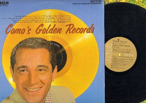 Como, Perry - Como's Golden Records: Temptation, Papa Loves Mambo, Wanted, Round And Round, Magic Moments, Hot Diggity (vinyl STEREO LP record, brown label 1970s issue of vintage recordings) - M10/NM9 - LP Records
