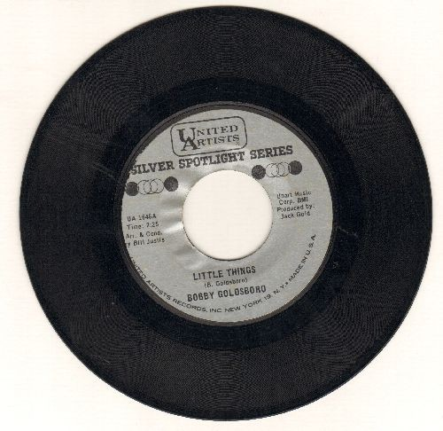 Goldsboro, Bobby - Little Things/I can't Go On Pretending (double-hit re-issue) - EX8/ - 45 rpm Records
