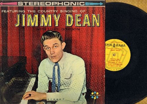 Dean, Jimmy & Luke Gordon - Featuring The Country Singing Of Jimmy Dean with Luke Gordon: You Little Devil, Lonely Heartache, A Milluon Tears From Now, Fool That I Am (vinyl STEREO LP record) - NM9/VG7 - LP Records