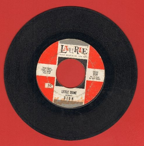 Dion - Little Diane/Lost For Sure (with juke box label) (wol) - VG7/ - 45 rpm Records