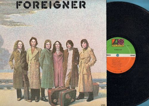 Foreigner - Foreigner: Feels Like The First Time, Cold As Ice, I Need You (vinyl STEREO LP record) (REISSUE) - EX8/EX8 - LP Records