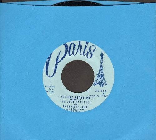 June, Rosemary - Repeat After Me/Hideaway - NM9/ - 45 rpm Records
