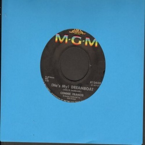 Francis, Connie - Dreamboat/Hollywood  - EX8/ - 45 rpm Records
