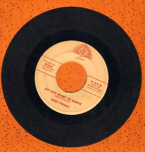 Freeman, Bobby - Do You Want To Dance/Big Fat Woman  - EX8/ - 45 rpm Records