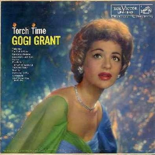 Grant, Gogi - Torch Time: Bewitched, They Say It's Wonderful, Summertime, Mad About The Boy, The Thrill Is Gone (vinyl MONO LP record) - EX8/VG7 - LP Records
