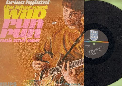 Hyland, Brian - The Joker Went Wild: Run Run Look And See, Norwegian Wood, Lavender Blue, Just Out Of Reach (vinyl MONO LP record) (wol) - VG7/VG6 - LP Records