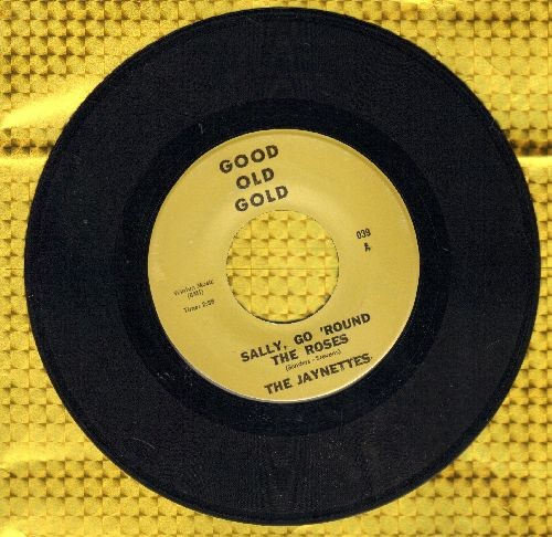 Jaynetts - Sally, Go 'Round The Roses/It's Gonna Take A Miracle (by The Royalettes on flip-side) (re-issue) - NM9/ - 45 rpm Records