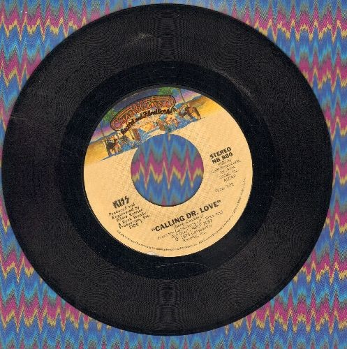 KISS - Calling Dr. Love/Take Me - EX8/ - 45 rpm Records