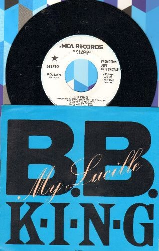 King, B. B. - My Lucille (double-A-sided DJ advance pressing with picture sleeve) - NM9/NM9 - 45 rpm Records