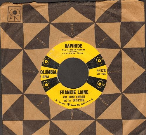 Laine, Frankie - Rawhide/Magnificent Obsession (with Columbia company sleeve) - VG7/ - 45 rpm Records