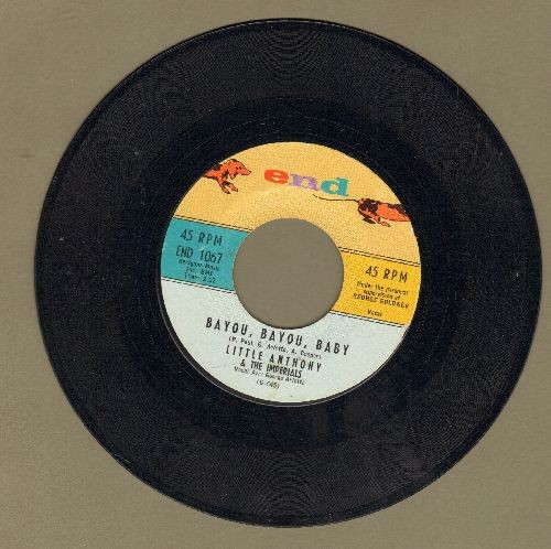 Little Anthony & The Imperials - Bayou, Bayou, Baby/My Empty Arms  - EX8/ - 45 rpm Records