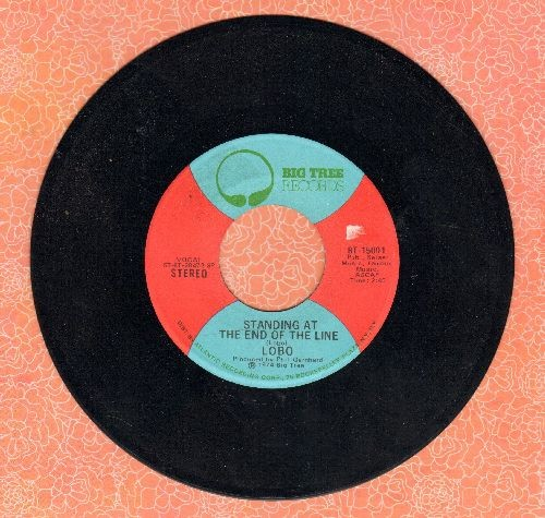 Lobo - Standing At The End Of The Line/Stoney - NM9/ - 45 rpm Records