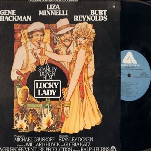 Lucky Lady - Lucky Lady - Original Soundtrack Recording, includes vocals by Liza Minnelli, Bessie Smith and Vangie Charmichael (vinyl STEREO LP record) - M10/EX8 - LP Records