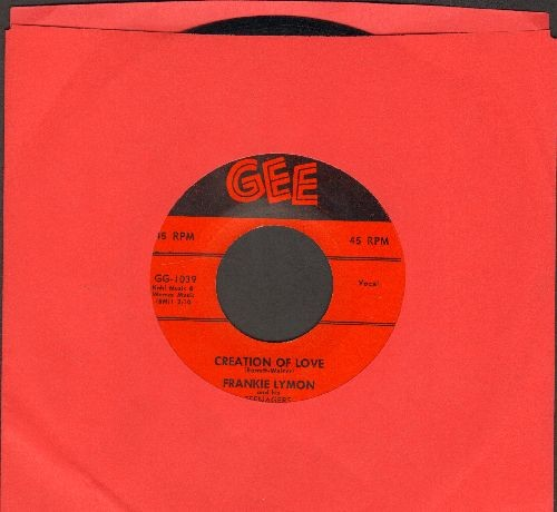 Lymon, Frankie - Goody Goody/Creation Of Love (with juke box label) - EX8/ - 45 rpm Records