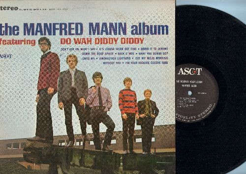 Mann, Manfred - The Manfred Mann Album: Do Wah Diddy Diddy, I'm Your Hoochie Coochie Man, Got My Mojo Working (vinyl STEREO LP record) - VG7/VG7 - LP Records