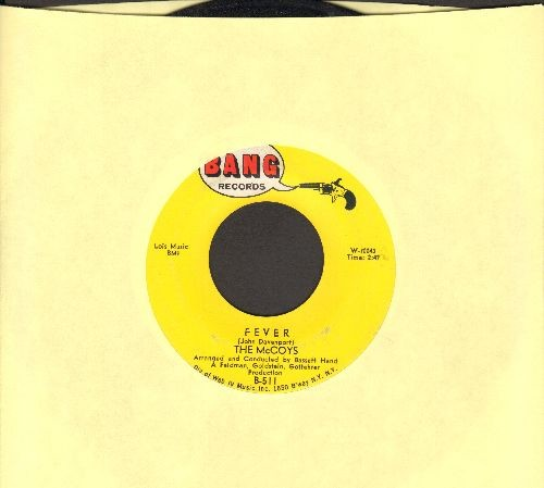 McCoys - Fever/Sorrow - EX8/ - 45 rpm Records