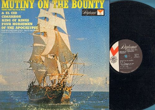 Film Spectacular Sound Track Orchestra - Mutiny On The Bounty - Themes from the MGM Movie & El Cid, Cimmaron, King Of Kings, Four Horsemen Of The Apocalypse (vinyl MONO LP record) - EX8/VG7 - LP Records