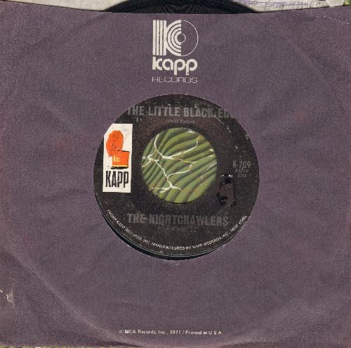 Nightcrawlers - The Little Black Egg/You're Running Wild (with Kapp company sleeve) - EX8/ - 45 rpm Records