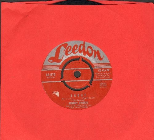 O'Keefe, Johnny - Shout (Parts 1 + 2)/What'd I Say (Australian Pressing, removable spindle adapter) - VG7/ - 45 rpm Records