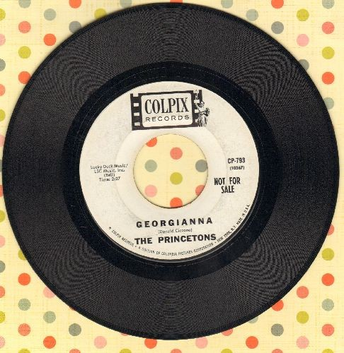 Princetons - Georgianna/Killer Joe (DJ advance pressing, sol) - EX8/ - 45 rpm Records