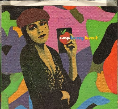 Prince - Raspberry Beret/She's Always In My hair (with picture sleeve) - EX8/EX8 - 45 rpm Records