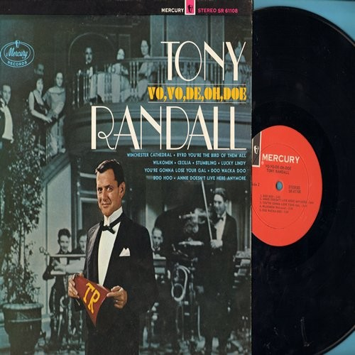 Randall, Tony - Vo,Vo,De, Oh, Doe: Winchester Cathedral, Wilkomen, Lucky Lindy, Boo Hoo (vinyl STEREO LP record, NICE condition!) - M10/NM9 - LP Records