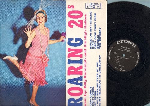 Randolph, Billy & The High Hatters - Roaring 20s: Goody Goody, Varsity Drag, Ma He's Making Eyes At Me (vinyl MONO LP record) - NM9/VG6 - 45 rpm Records