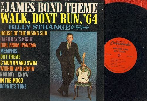 Strange, Billy - The James Bond Theme/Walk, Don't Run, '64: House Of The Rising Sun, oo7 Theme, C'Mon And Swim, Nobody I Know, Hard Day's Night (vinyl MONO LP record) - NM9/VG7 - LP Records