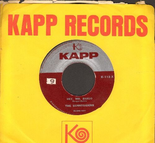 Sunnysiders - Hey, Mr. Banjo/Zoom, Zoom, Zoom (with Kapp company sleeve) - EX8/ - 45 rpm Records