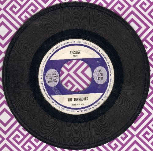 Tornadoes - Telstar/Jungle Fever  - EX8/ - 45 rpm Records
