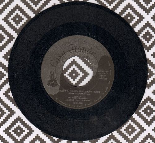 Tune Weavers - Happy, Happy Birthday Baby/Ol Man River  - EX8/ - 45 rpm Records